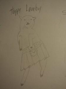 happy lamby